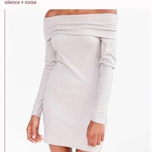 Silence+Noise Off the Shoulder Dress